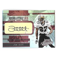 JOE HORN 2003 Playoff Absolute Memorabilia Absolutely Ink Autograph auto /25