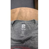 NFL Team Apparel Heather Gray San Francisco 49ers T-Shirt Men's Size XL