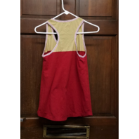 NFL Team Apparel Womens San Francisco 49ers Red & Gold Tank Top Size S Small