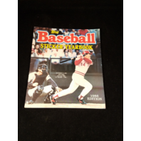 1986 Topps MLB Baseball Sticker Yearbook Album Unused
