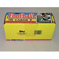 1989 Topps Football Factory Set Sealed Complete 396 Cards New Unopened Sealed