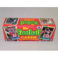 1990 Topps Football Factory Set Sealed Complete 528 Cards Joe Montana Art Monk