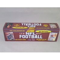1991 Score Football Factory Set Sealed Complete 690 Cards Series 1 & 2
