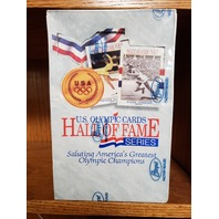 1991 Impel U.S. Olympics Hall Of Fame Factory Sealed Hobby Box 36 Packs