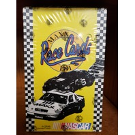 1991 MAXX RACE CARDS FACTORY SEALED HOBBY BOX 36 PACKS NASCAR