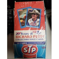 1991 Traks 20 Years Of Richard Petty Collectible Race Cards Factory Sealed Box