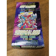 1992 Comic Images Rob Liefeld Youngblood Trading Cards Box 48 Packs