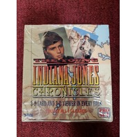1992 Pro Set Young Indiana Jones Chronicles Trading Cards Factory Sealed Box