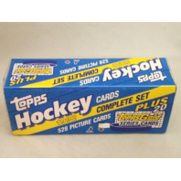 1992-93 Topps Hockey Factory Sealed Complete Set 528 Cards w/20 Bonus Gold Cards