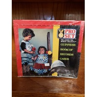 1992 Pro Set Guinness Book Of Records Trading Cards Factory Sealed Box 36 Packs