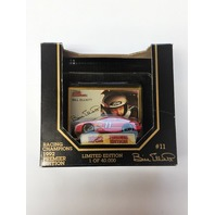 1992 Racing Champions Premier Edition 1:64 #11 Bill Elliott/Amoco /40,000 NOS