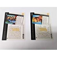 1993 Skybox Ultraverse Ultra Tech 2-Card Set #U1 Prime & #U2 Hardcase