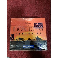 1994 Skybox Disney's Lion King Series II Trading Cards Factory Sealed Hobby Box