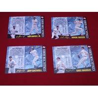1995 POST Collectors Series Baseball Complete Set 1-16 Ripken Griffey Bonds