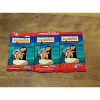 Lot Of 3 1995 Skybox Disney Pocahontas Trading Card Sealed Packs