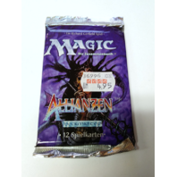 1996 Magic the Gathering MTG Alliances Booster Pack German Allianzen Sealed