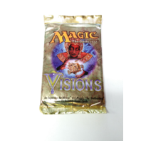 1996 Magic the Gathering MTG Mirage Visions Booster Pack Sealed