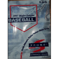 1997 Score Baseball Gold Packs (99 Sealed Pack Lot)