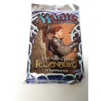 1997 Magic the Gathering MTG Stronghold Booster Pack German Sealed Felsenburg