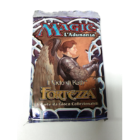 1997 Magic the Gathering MTG Stronghold Booster Pack Italian Fortezza Sealed