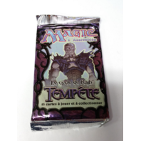 1997 Magic the Gathering MTG Rath Cycle Tempest Booster Pack French Tempete