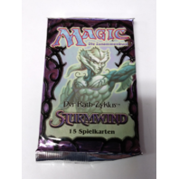 1997 Magic the Gathering MTG Rath Cycle Tempest Booster Pack German Sealed