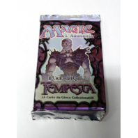1997 Magic the Gathering MTG Rath Cycle Tempest Booster Pack Italian Sealed