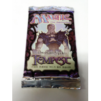 1997 Magic the Gathering MTG Rath Cycle Tempest Booster Pack Korean