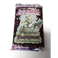 1997 Magic the Gathering MTG Rath Cycle Tempest Pack Portuguese Tempestade
