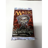 1997 Magic the Gathering MTG Mirage Weatherlight Booster Pack Japanese Sealed