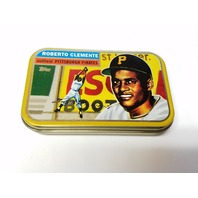 1998 Topps Roberto Clemente Commemorative Tin Empty Pittsburgh Pirates