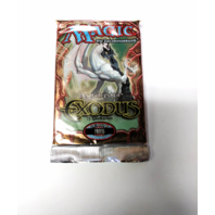 1998 Magic the Gathering MTG Exodus Expert Booster Pack German Sealed