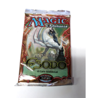 1998 Magic the Gathering MTG Exodus Expert Booster Pack Italian Esodo Sealed