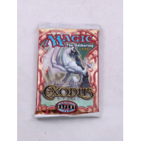 1998 Magic the Gathering MTG Exodus Expert Booster Pack Japanese Sealed