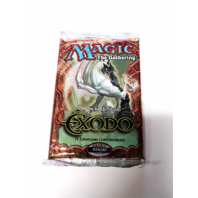1998 Magic the Gathering MTG Exodus Expert Booster Pack Portuguese Exodo Sealed