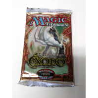 1998 Magic the Gathering MTG Exodus Expert Booster Pack Spanish Exodo Sealed