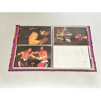 """1998 PANINI WCW/NWO PHOTOCARDS Set Of 83 Cards 4"""" x 6"""" In Album Wrestling"""