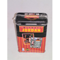 1996 Upper Deck Michael Jordan Metal Tin Set Factory Sealed 4 Metal Cards