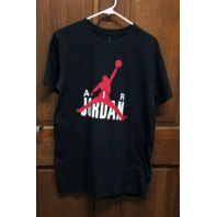 Air Jordan Black Graphic T-Shirt Size L Michael Jordan Chicago Basketball