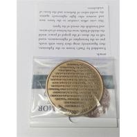 Vanguard Northwest Territorial Mint ARMOR OF GOD Coin High Relief