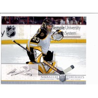 2006-07 BAP Be A Player Portraits 8 X 10 Signature Hannu Toivonen Auto Card