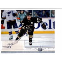 2006-07 BAP Be A Player Portraits 8 X 10 Signature Scott Niedermayer Auto Card