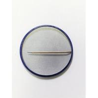 "Vintage Pinback Button Pin Blue BASEBALL IN '87 2.25"" Washington D.C."