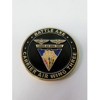 """US Navy Carrier Air Wing Three Team """"Battle Axe"""" Challenge Coin 2"""""""