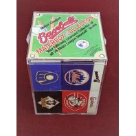 Vtg 1980s Diamond Major League Baseball Matchbox Collection 28 Teams NEW Sealed