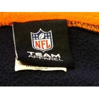 NFL Team Apparel Chicago Bears 1/2 Zip Pullover Fleece Jacket Sz M Football