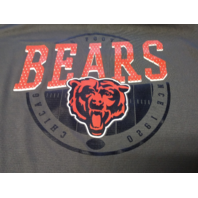 NFL Team Apparel TX3 Cool Chicago Bears Gray Athletic Shirt Men's Size XL