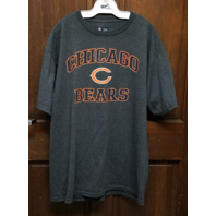 NFL Team Apparel Chicago Bears Charcoal Gray Graphic T-Shirt Men's Size L