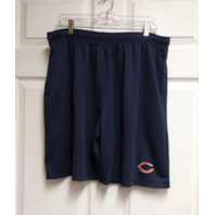 NFL Team Apparel Navy Blue Chicago Bears Trunks Shorts Men's Size XL Football