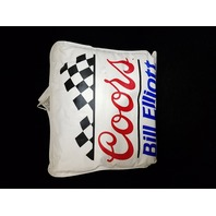Lot Of 2 Vintage 1988 Bill Elliott Throw Pillows Coors Winston Cup NASCAR